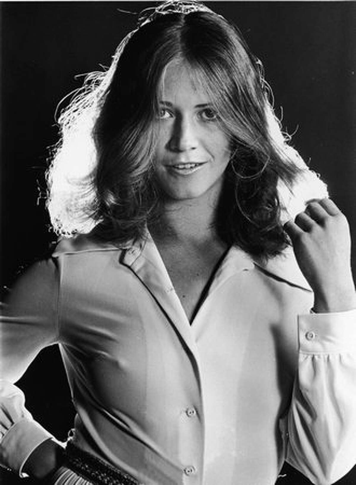 Promotional portrait of American adult film actor Marilyn Chambers, circa 1972. Chambers, star of the groundbreaking film