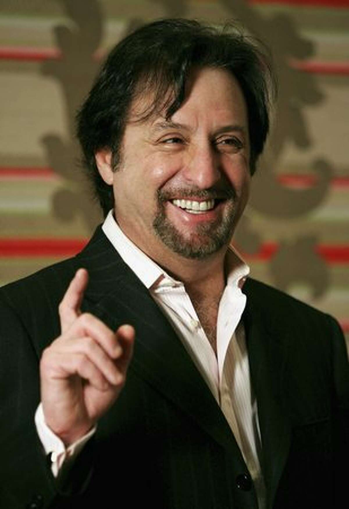 Actor Ron Silver launching his latest film