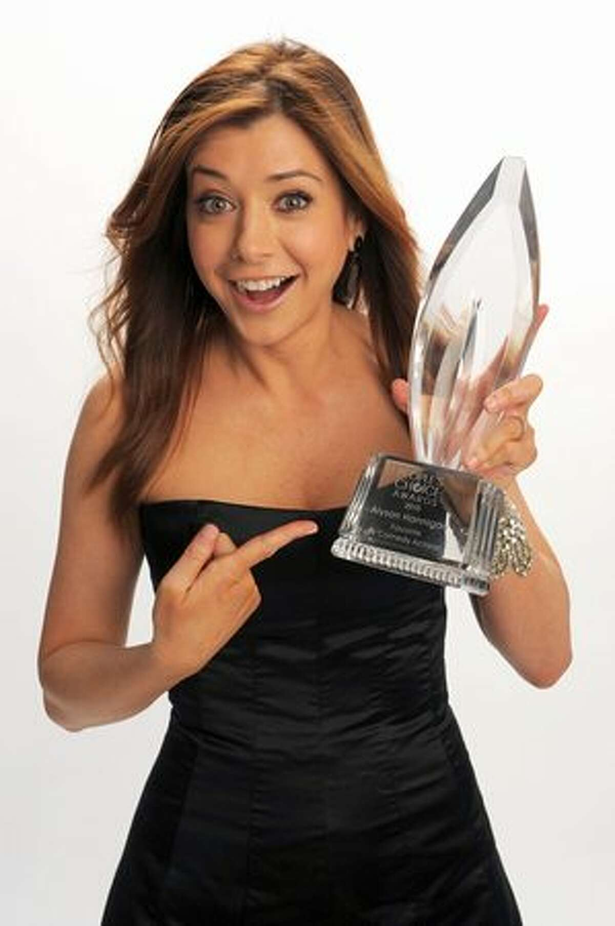 Actress Alyson Hannigan poses for a portrait for Favorite TV Comedy Actress.