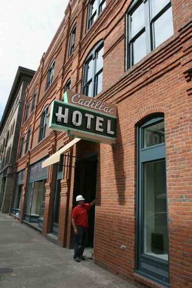 The Cadillac Hotel. Photo: Meryl Schenker, Seattle Post-Intelligencer