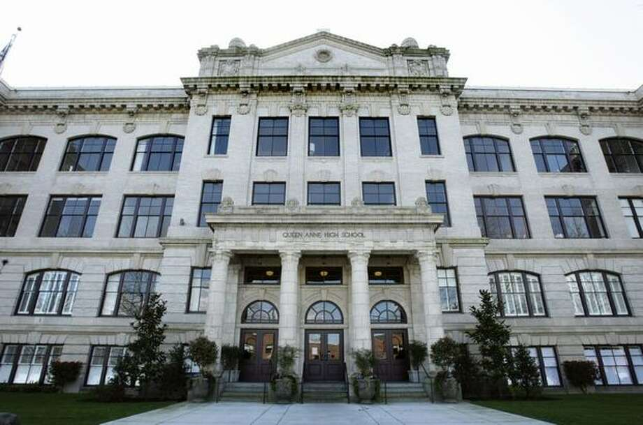 Queen Anne High School Condominiums. Photo: Andy Rogers, Seattle Post-Intelligencer