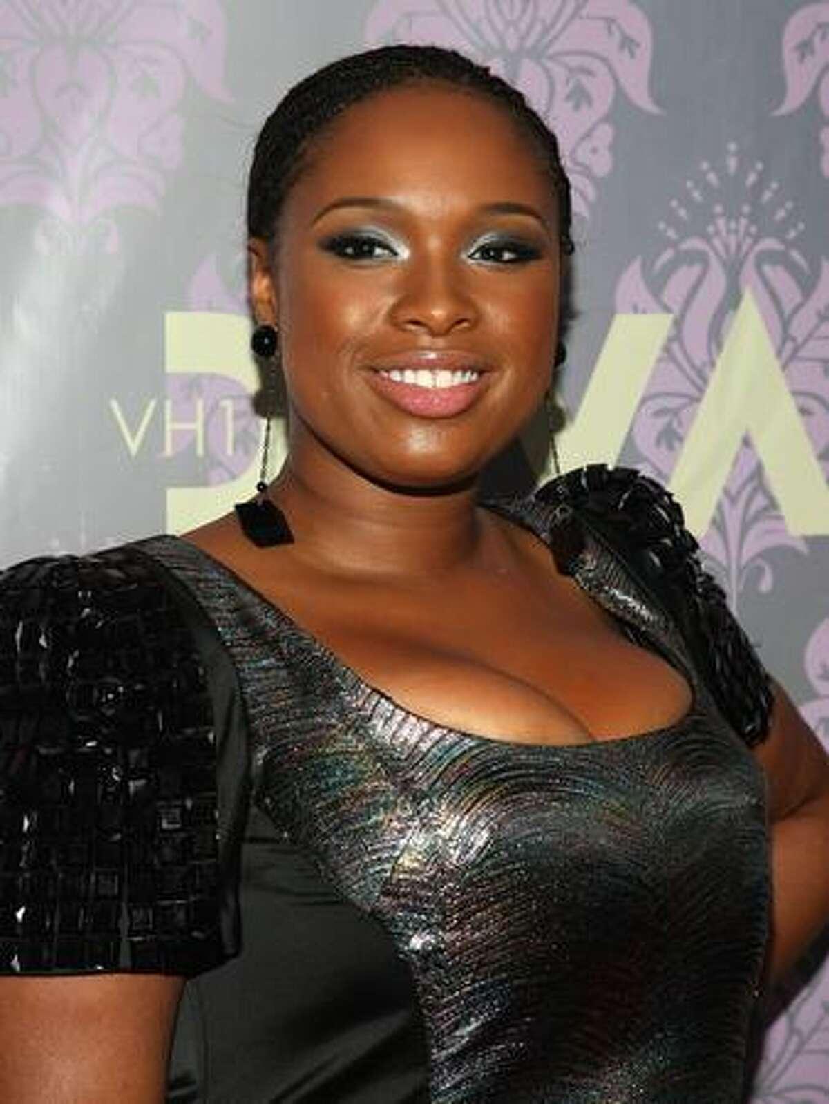 Singer Jennifer Hudson attends 2009 VH1 Divas at Brooklyn Academy of Music in New York on Thursday, Sept. 17, 2009.