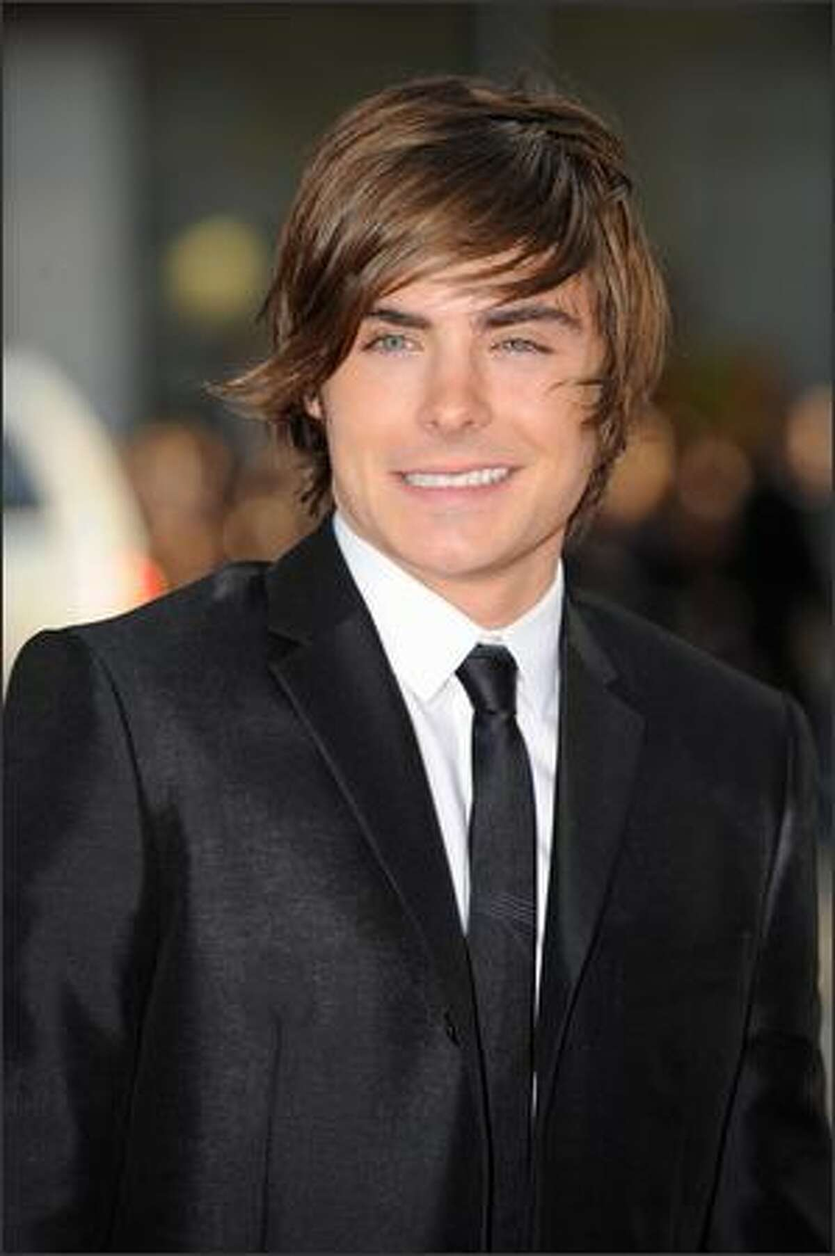 Actor Zac Efron arrives at the Los Angeles premiere of