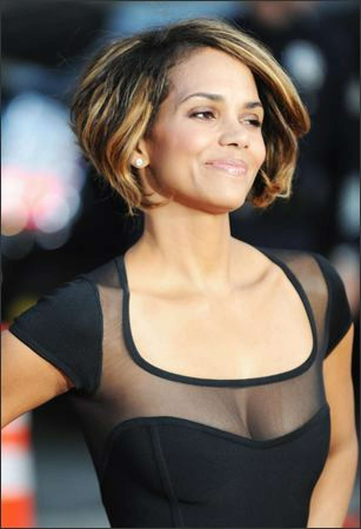 Actress Halle Berry arrives.
