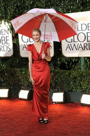 Cameron Diaz arrives on the red carpet for the 67th Annual Golden Globe Awards at the Beverly Hilton Hotel, Photo: Getty Images