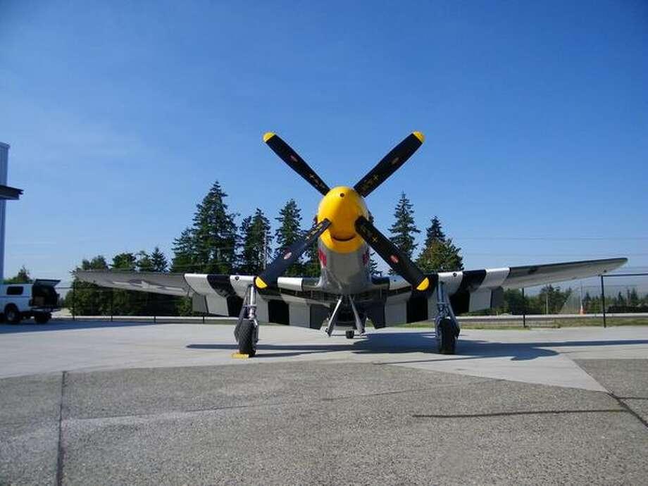 "Historic Flight Foundation: North American P-51 Mustang ""Impatient Virgin"" Photo: Aubrey Cohen, Seattlepi.com"