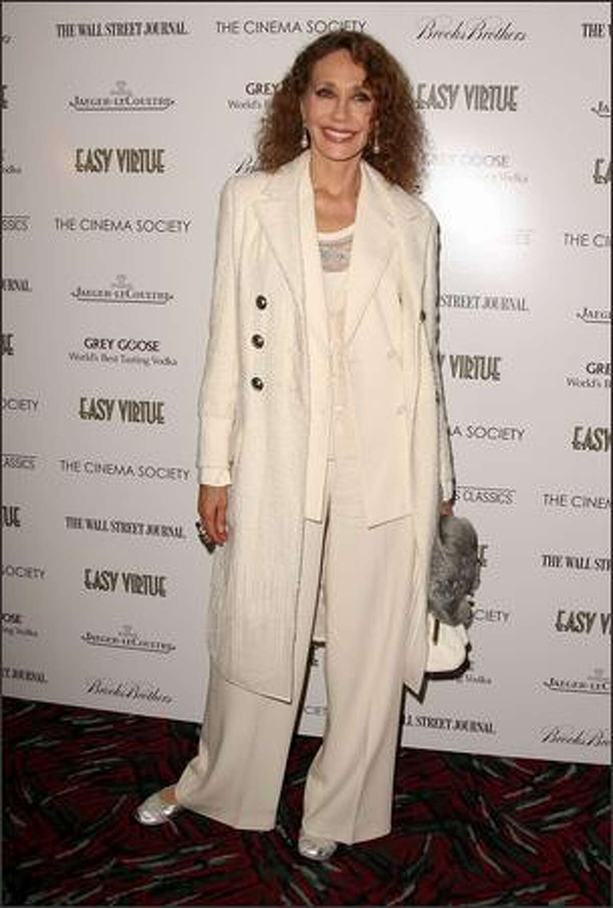 Marisa Berenson attends a screening of