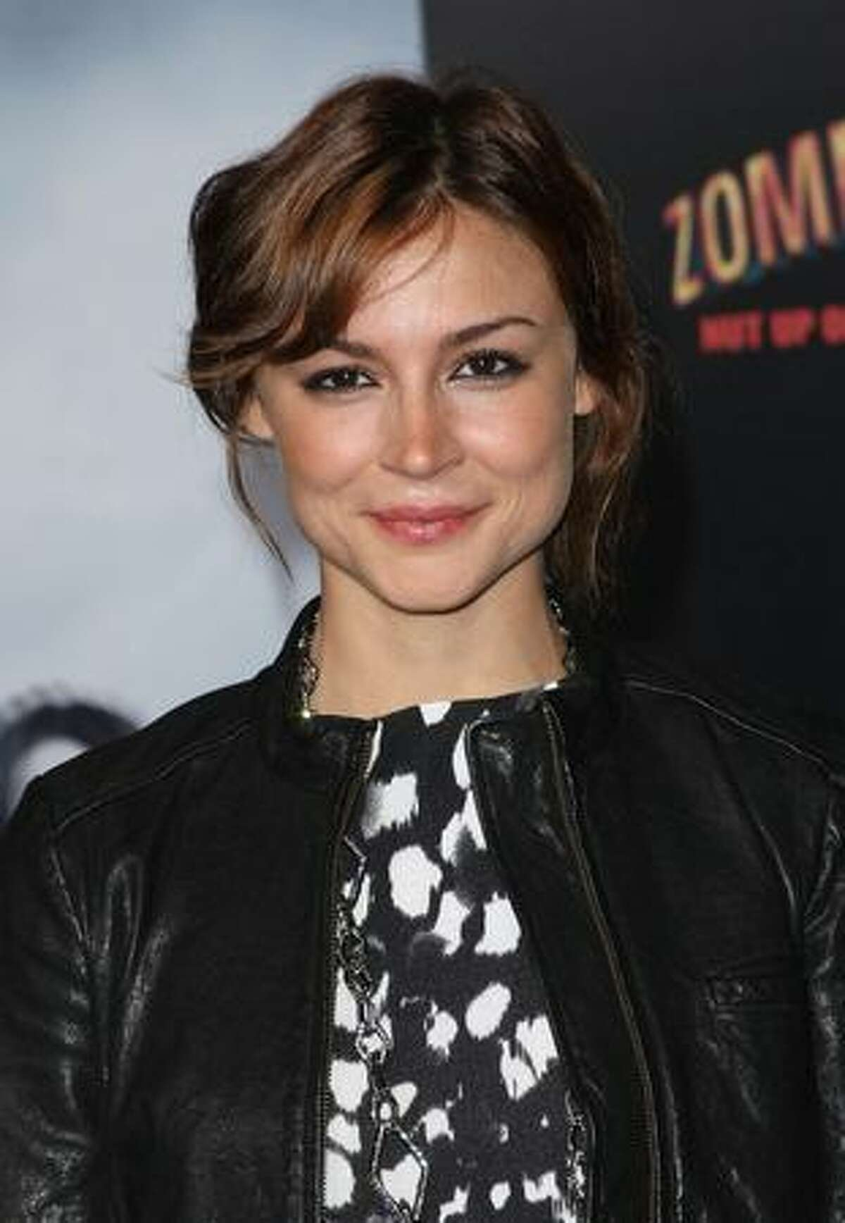 Actress Samaire Armstrong arrives at the Los Angeles premiere of Sony Pictures'