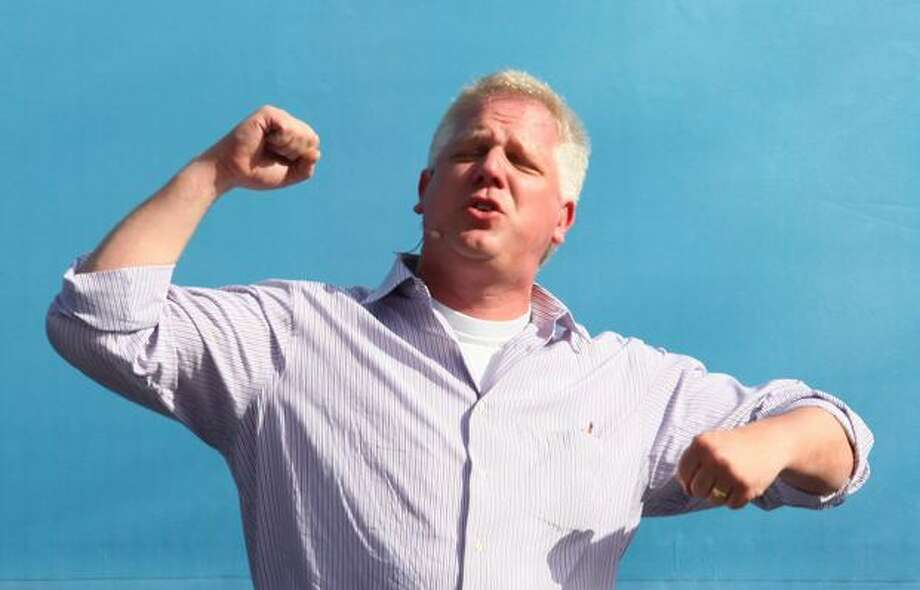 Glenn Beck speaks during Evergreen Freedom Foundation's Take the Field with Glenn Beck event at Safeco Field on Saturday September 26, 2009.. Photo: Joshua Trujillo, Seattlepi.com