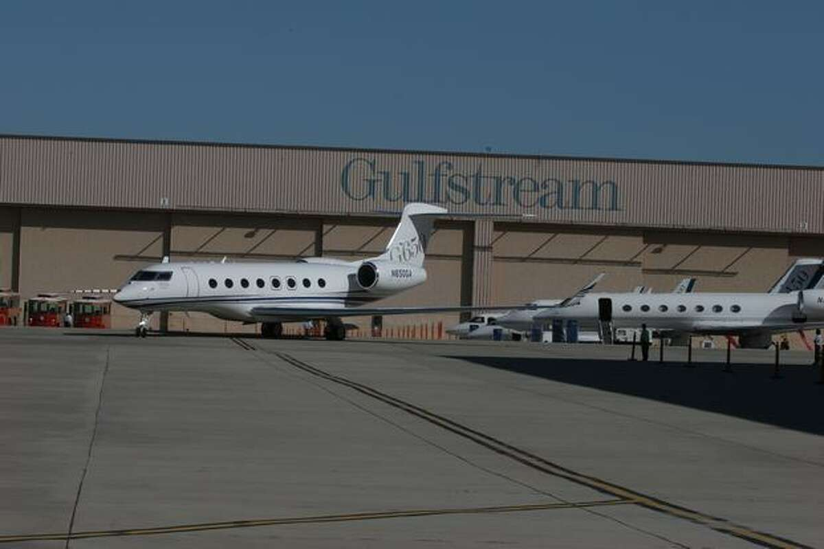 Gulfstream G650 Rollout Event (Gulfstream photo)