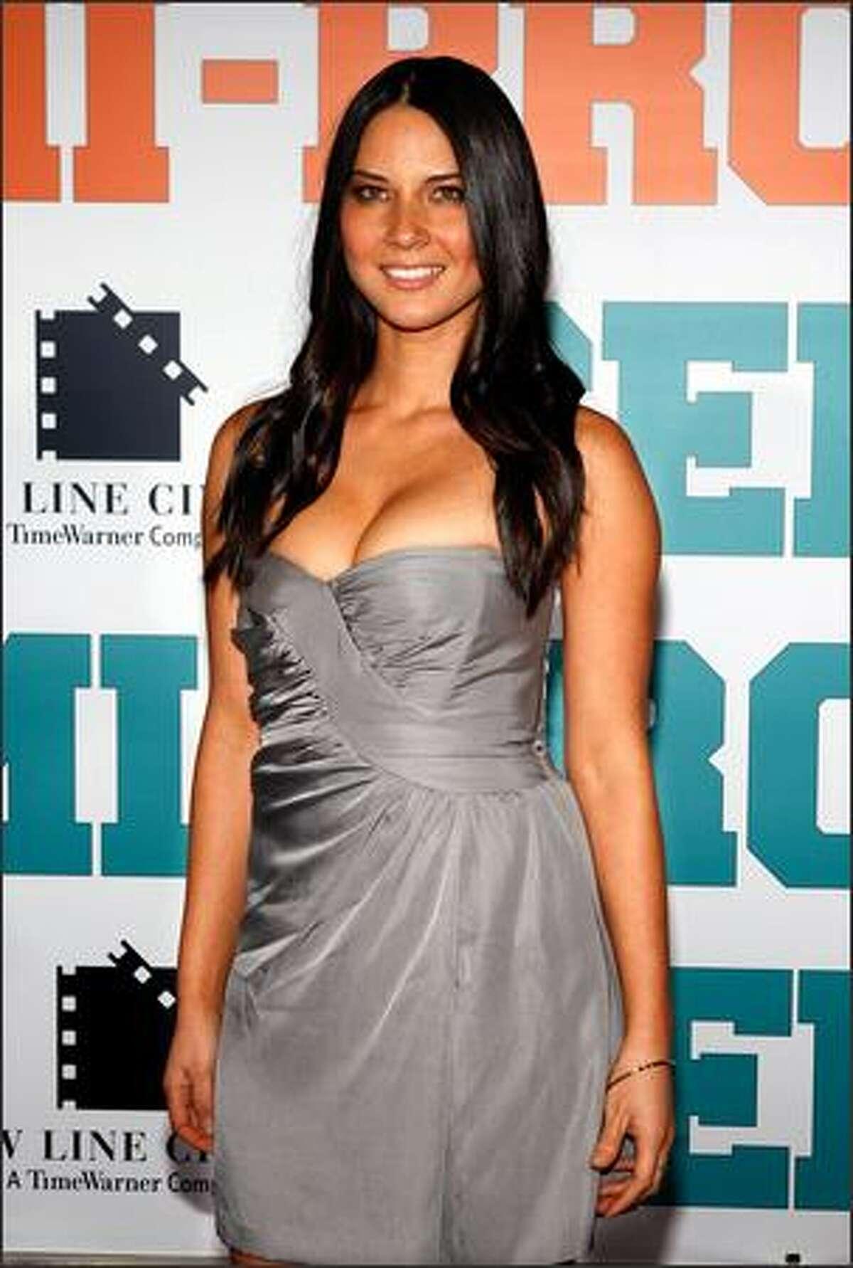No. 96: TV personality Olivia Munn, 26 (