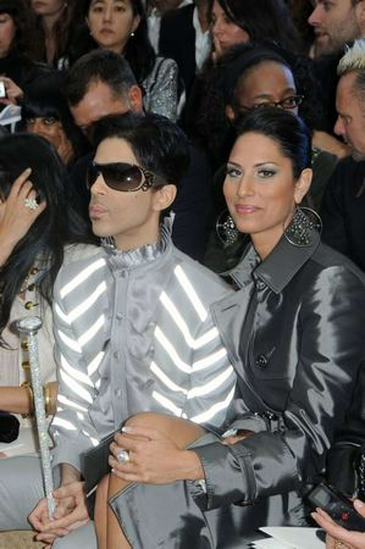 Prince and guest attend.