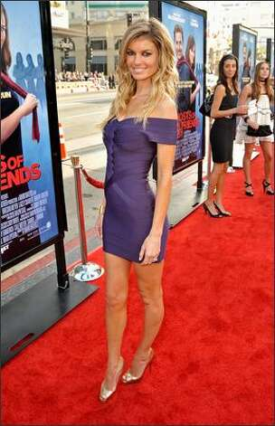 No. 18: Swimsuit/lingerie model Marisa Miller, 30 (Sports Illustrated, Victoria's Secret). Photo: Getty Images