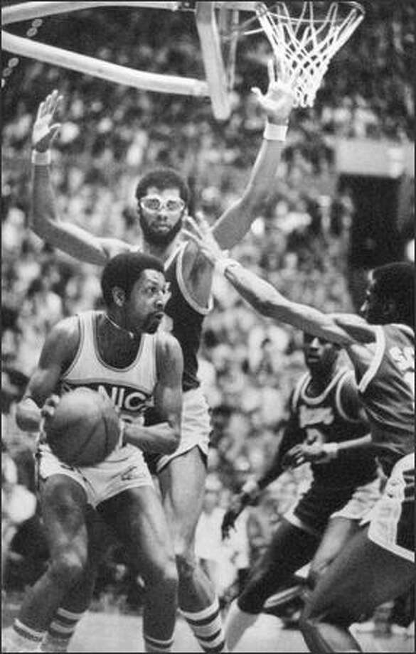 1978 playoffs against Los Angeles Lakers (seattlepi.com file)