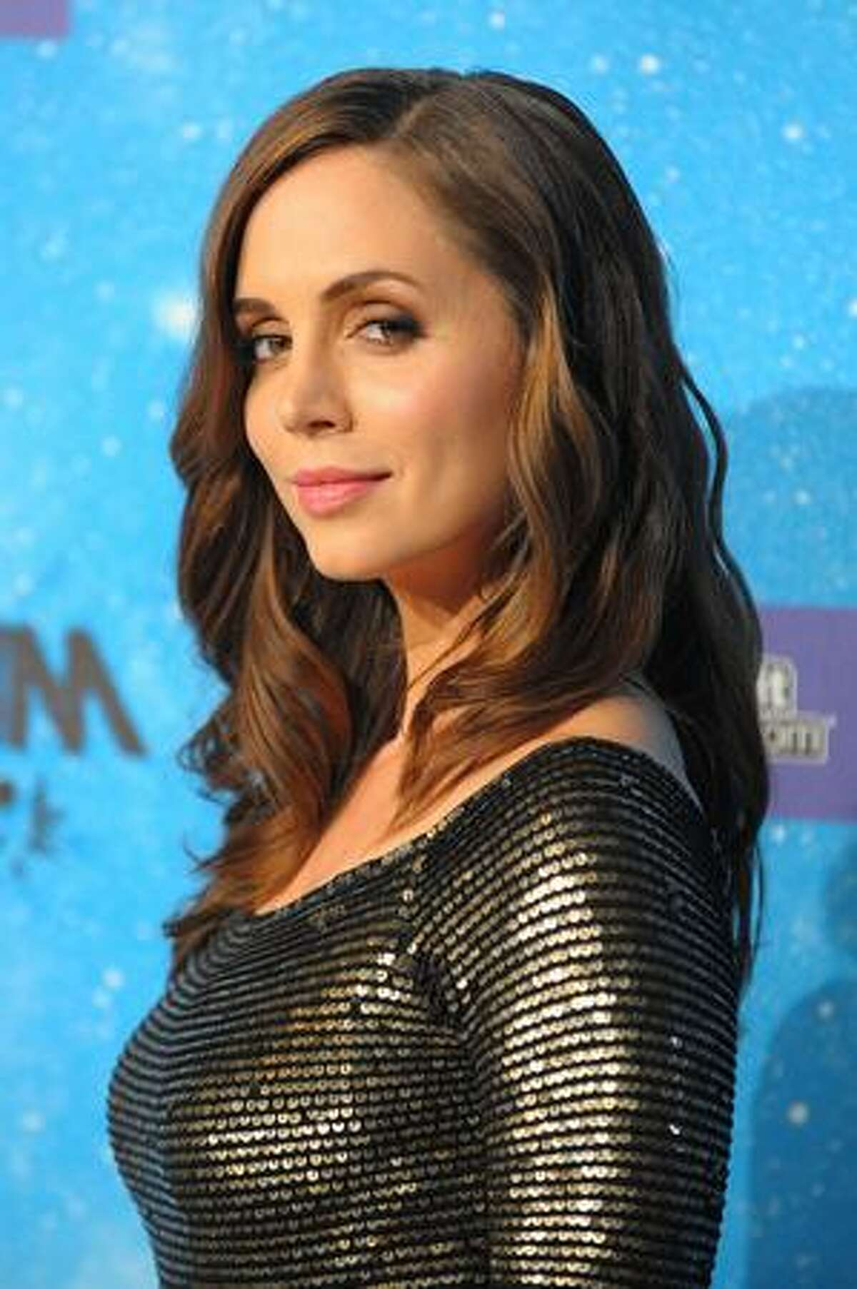 Actress Eliza Dushku arrives at Spike TV's Scream 2009 held at the Greek Theatre in Los Angeles on Saturday, Oct. 17, 2009.