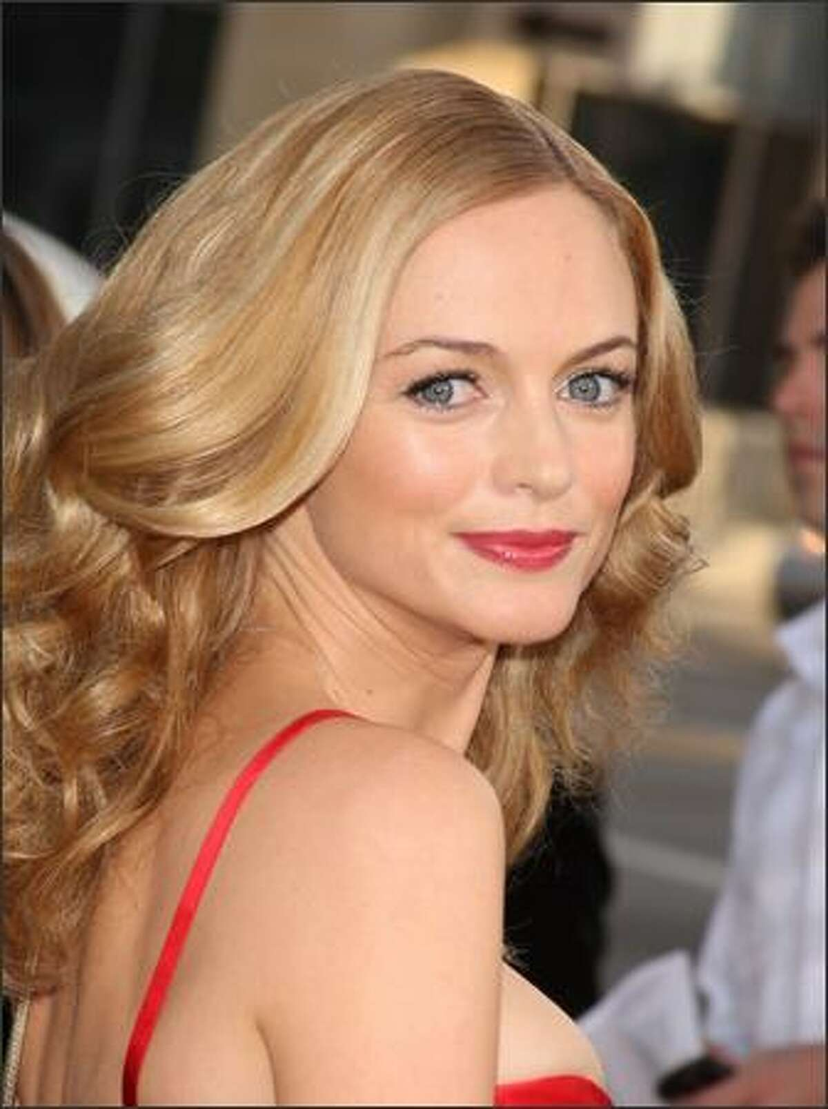 Actress Heather Graham arrives for the premiere of