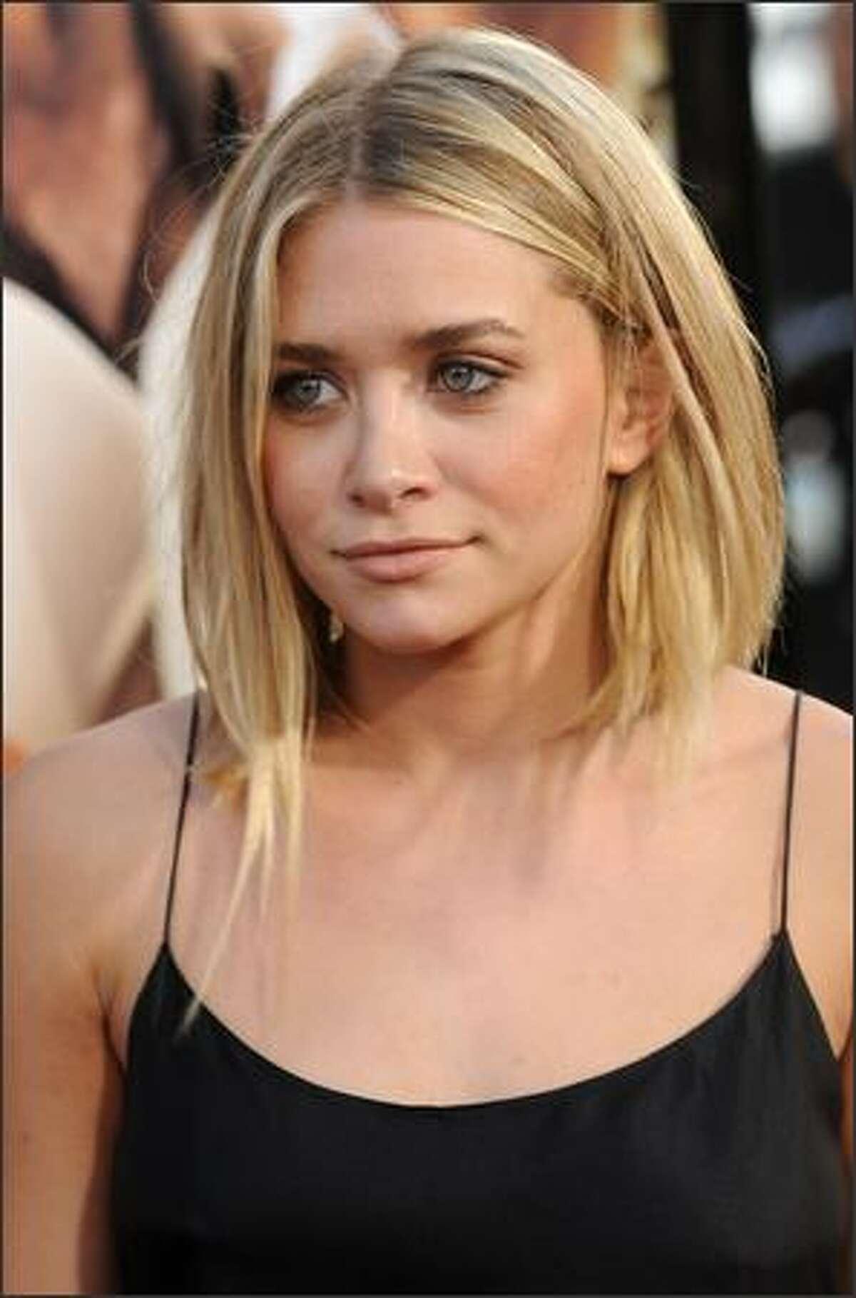 Ashley Olsen arrives.