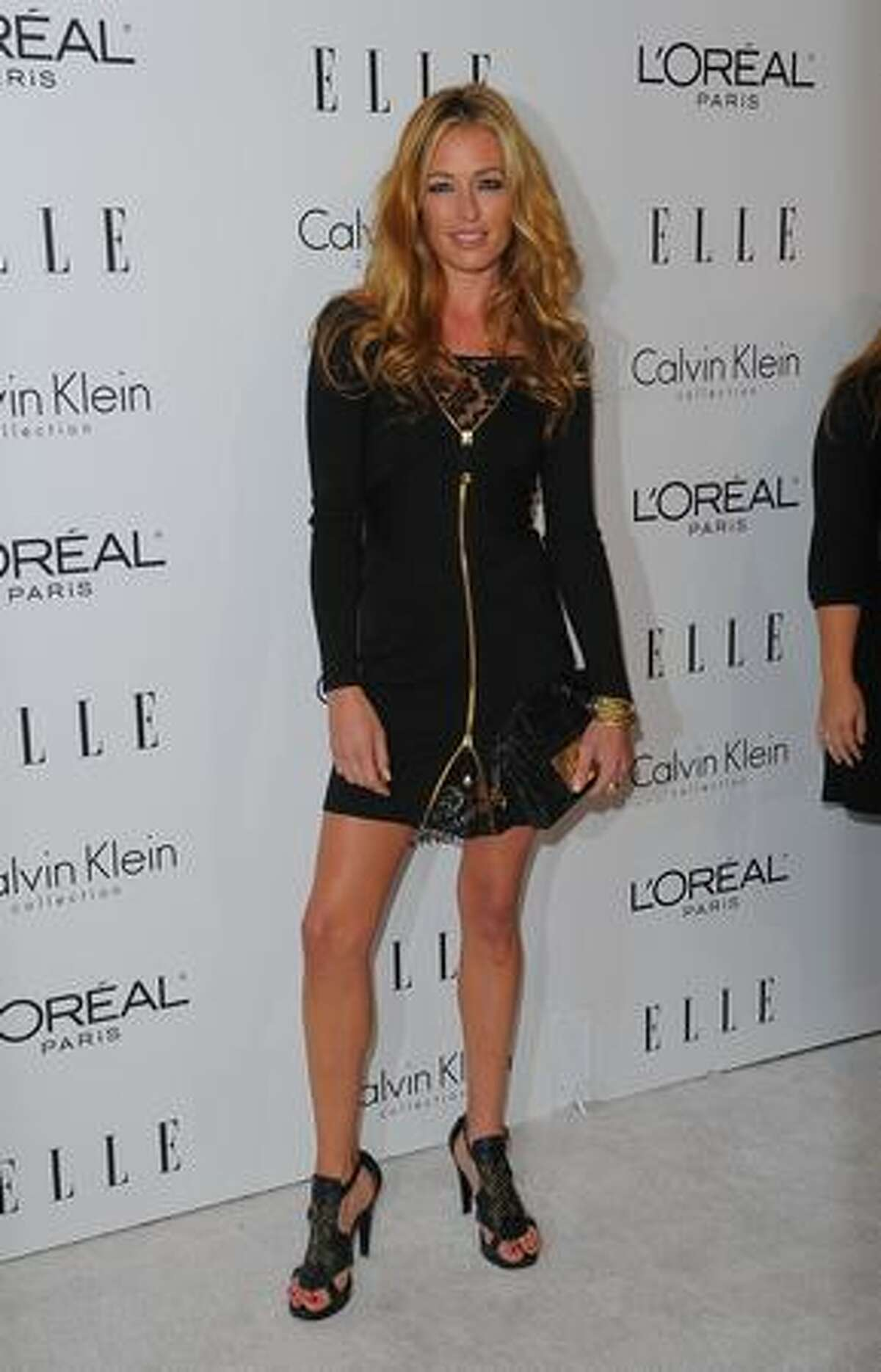 TV personality Cat Deeley attends the 16th Annual Elle Women in Hollywood Tribute at the Four Seasons Hotel in Beverly Hills, Calif.