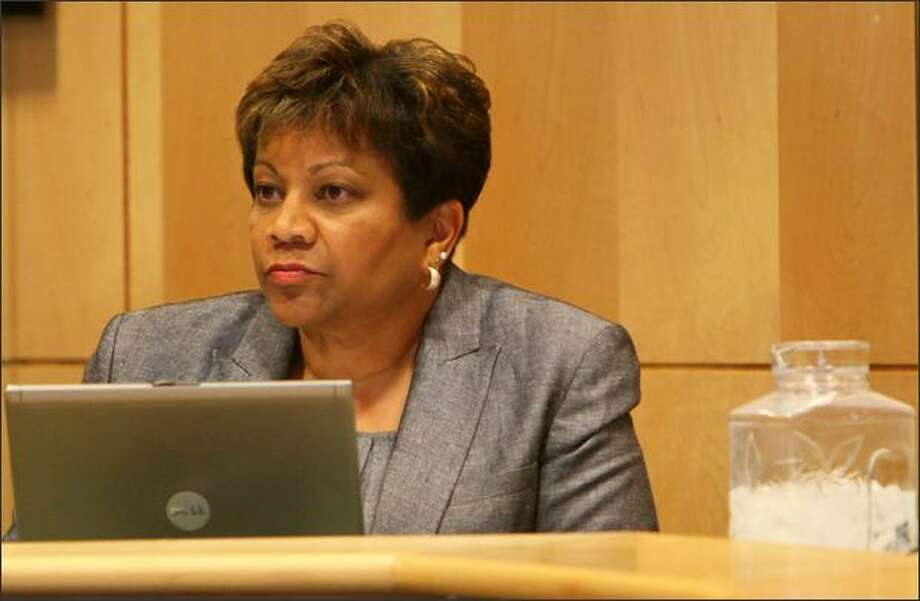 Enfield became interim superintendent after the Seattle school board fired  Maria Goodloe-Johnson in 2011 over a $1.8 million financial scandal involving a district business development program. Photo: Joshua Trujillo, Seattlepi.com