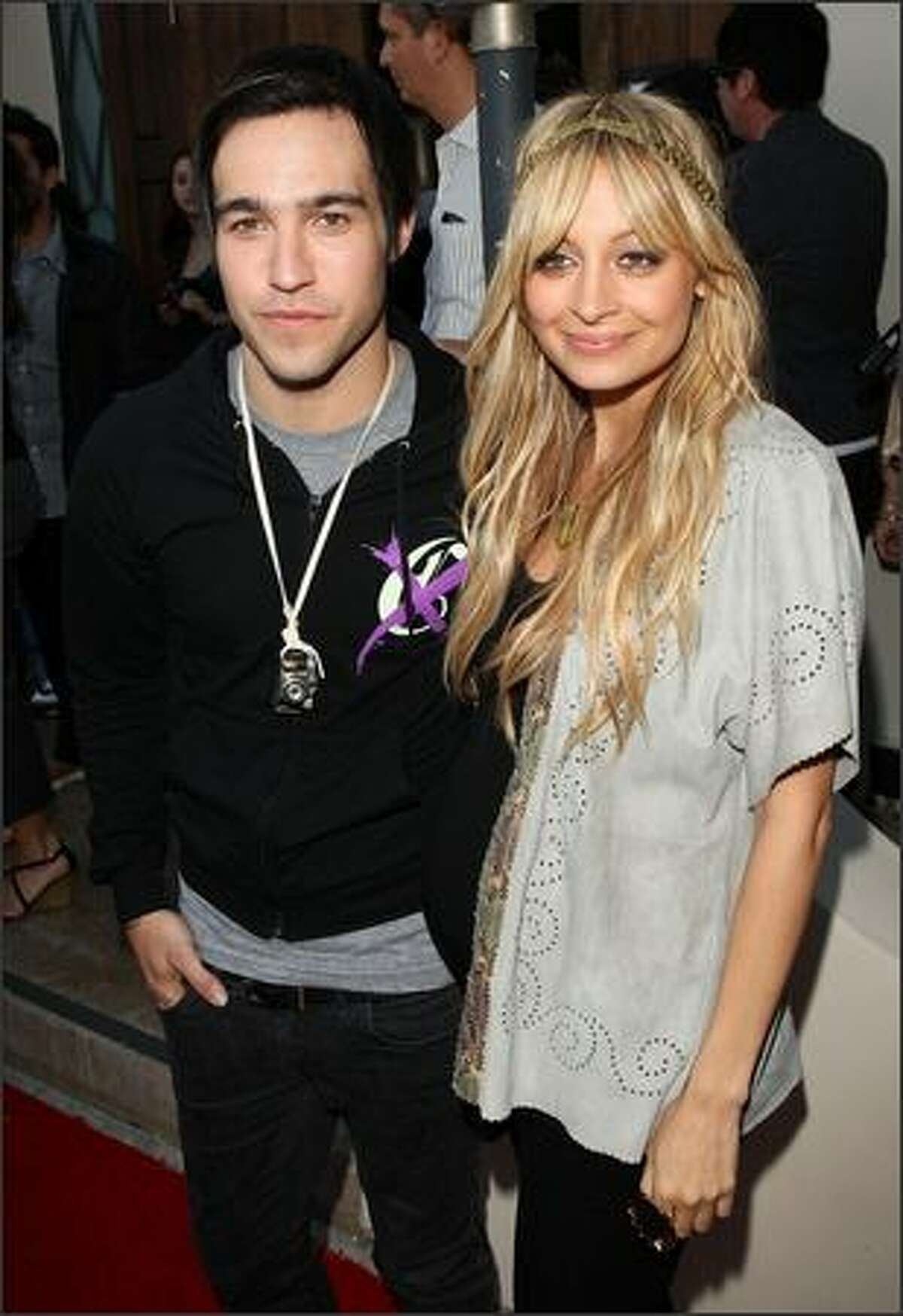 Musician/designer Pete Wentz and designer Nicole Richie co-host the House of Harlow, Clandestine Industries and Switch Boutique fashion show held at Boulevard3 in Hollywood, Calif., on Thursday, June 4, 2009. House of Harlow is Richie's jewelry line, Clandestine Industries is Wentz's clothing line and Switch Boutique is a Beverly Hills fashion store.