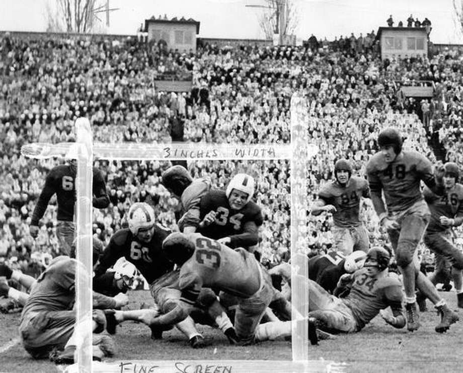 A 1945 game scene. Photo: P-I File