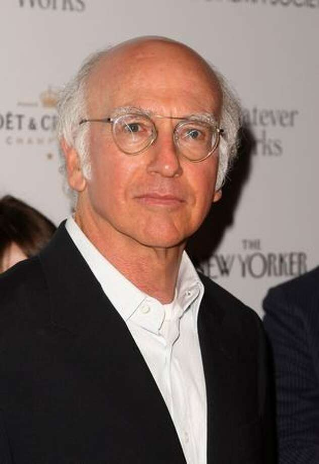 "Actor Larry David attends a screening of ""Whatever Works"" hosted by the Cinema Society and The New Yorker at Regal Cinema Battery Park in New York City. Photo: Getty Images"