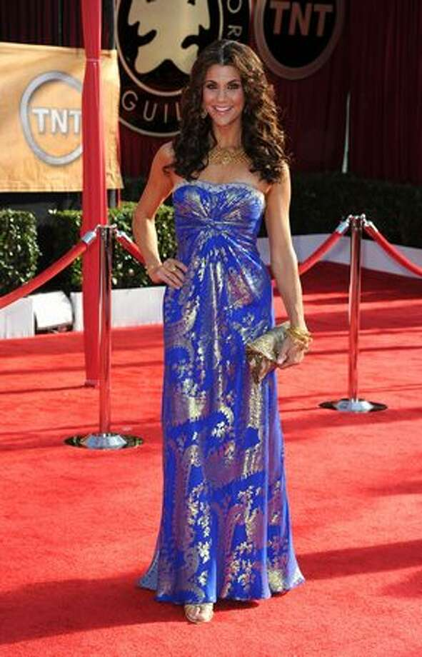 TV personality Samantha Harris arrives. Photo: Getty Images