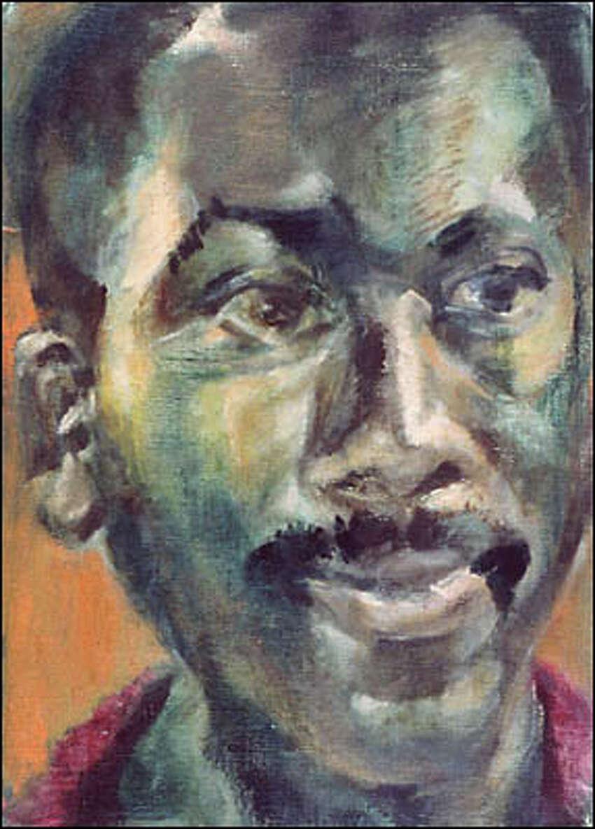 Portrait of Jacob Lawrence by Gwendolyn Knight