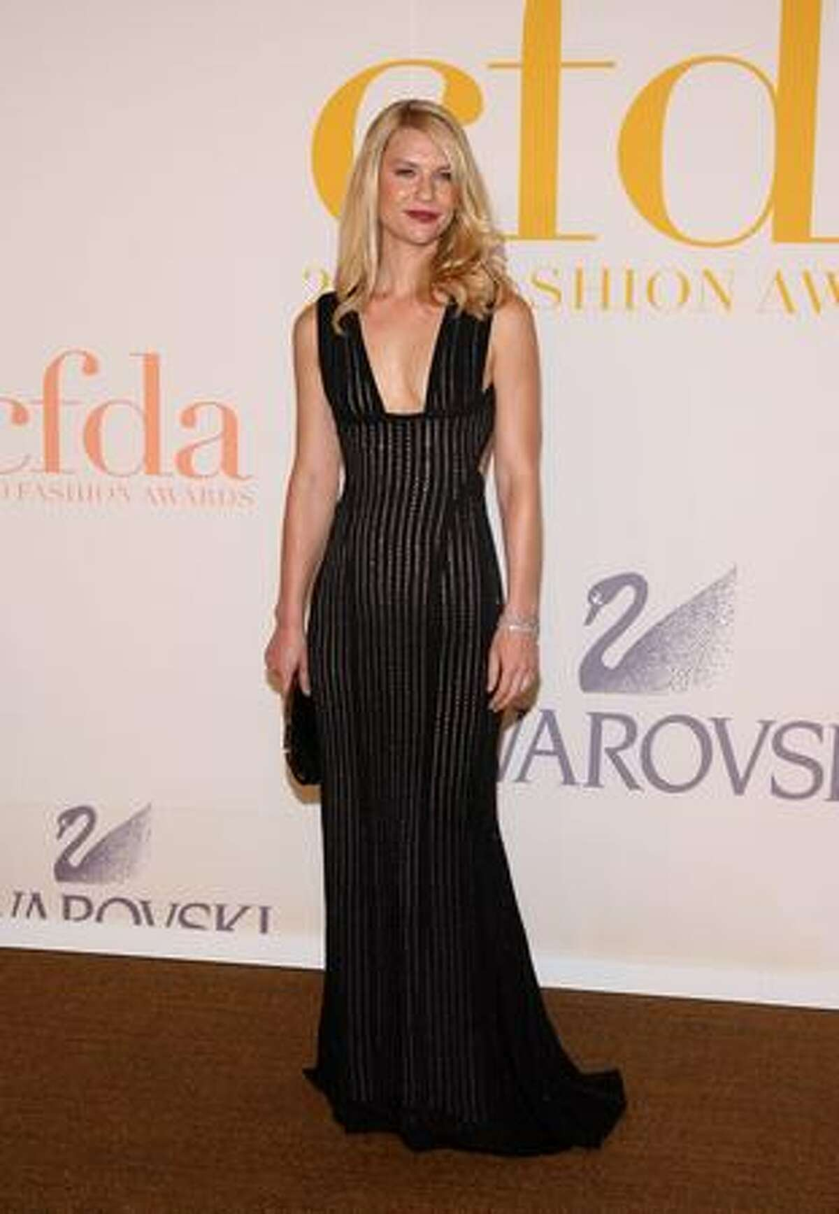 Actress Claire Danes attends the 2009 CFDA Fashion Awards at Alice Tully Hall, Lincoln Center in New York on Monday, June 15, 2009.