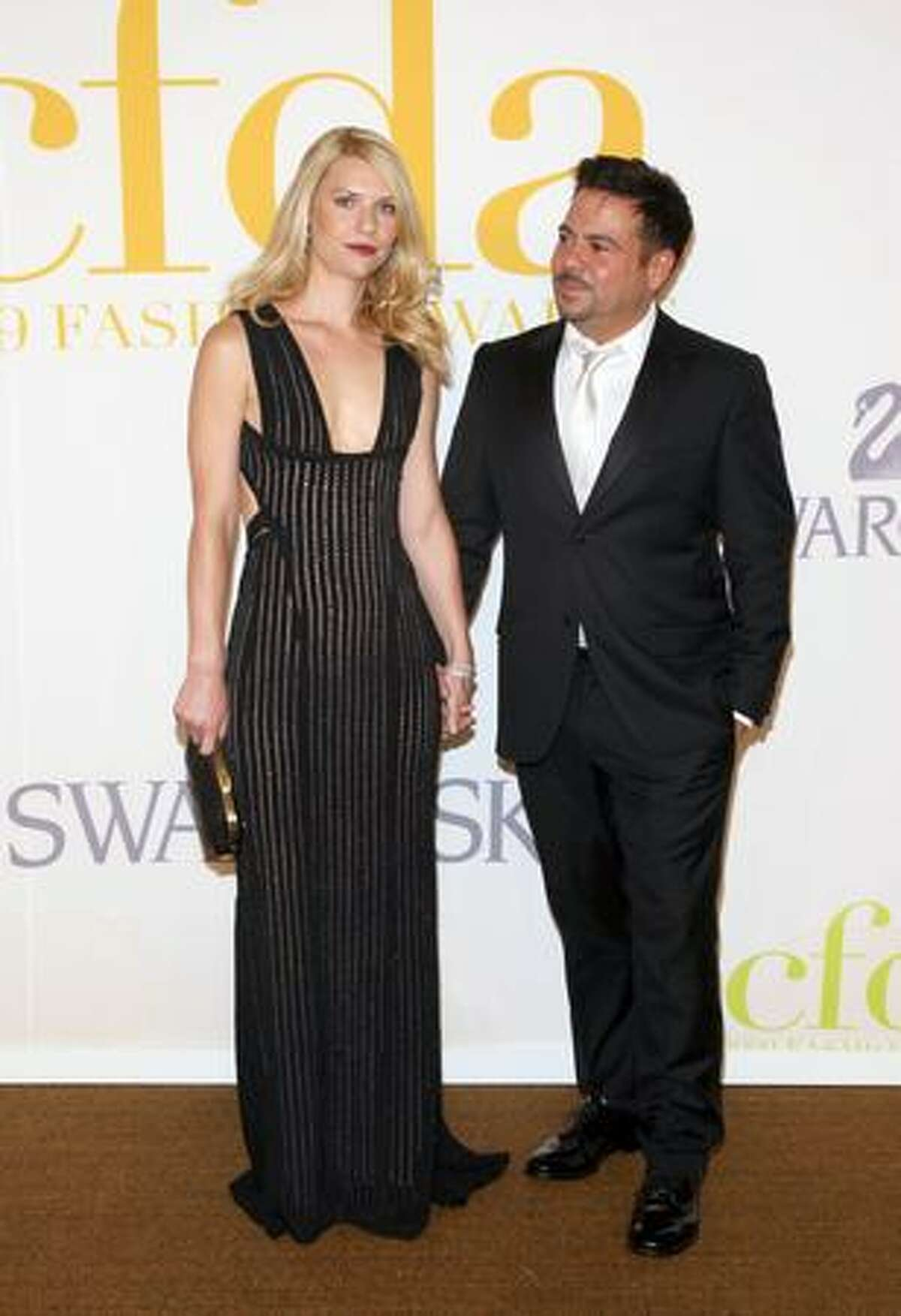 Actress Claire Danes and designer Narciso Rodriguez.