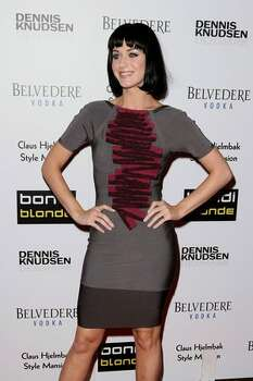 Katy Perry attends the Bondi Blonde's Style Mansion at the Style Mansion International on Feb. 9, 2009 in Beverly Hills, Calif.. Photo: Getty Images