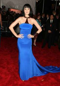 "Katy Perry attends ""The Model as Muse: Embodying Fashion"" Costume Institute Gala at The Metropolitan Museum of Art on May 4, 2009 in New York. Photo: Getty Images"