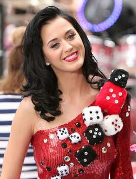 "Katy Perry poses after performing on NBC's ""Today"" at Rockefeller Center on July 24, 2009 in New York. Photo: Getty Images"