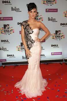 Katy Perry arrives for the 2009 MTV Europe Music Awards held at the O2 Arena on Nov. 5, 2009 in Berlin, Germany. Photo: Getty Images