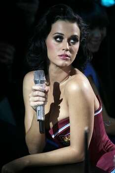 Katy Perry performs during the 2009 MTV Europe Music Awards held at the O2 Arena on Nov. 5, 2009 in Berlin, Germany. Photo: Getty Images