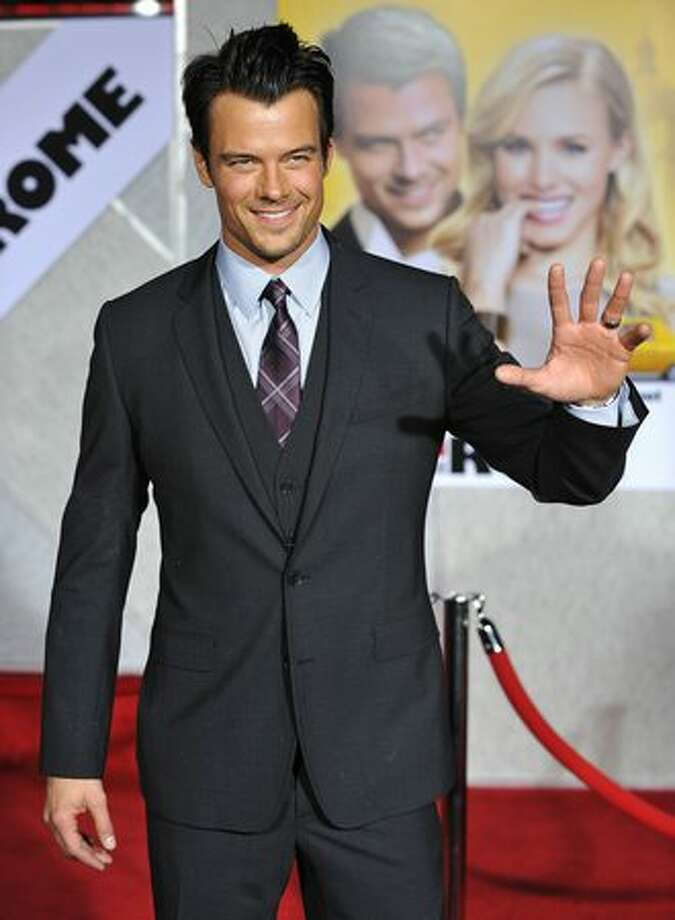 Cast member Josh Duhamel arrives. Photo: Getty Images