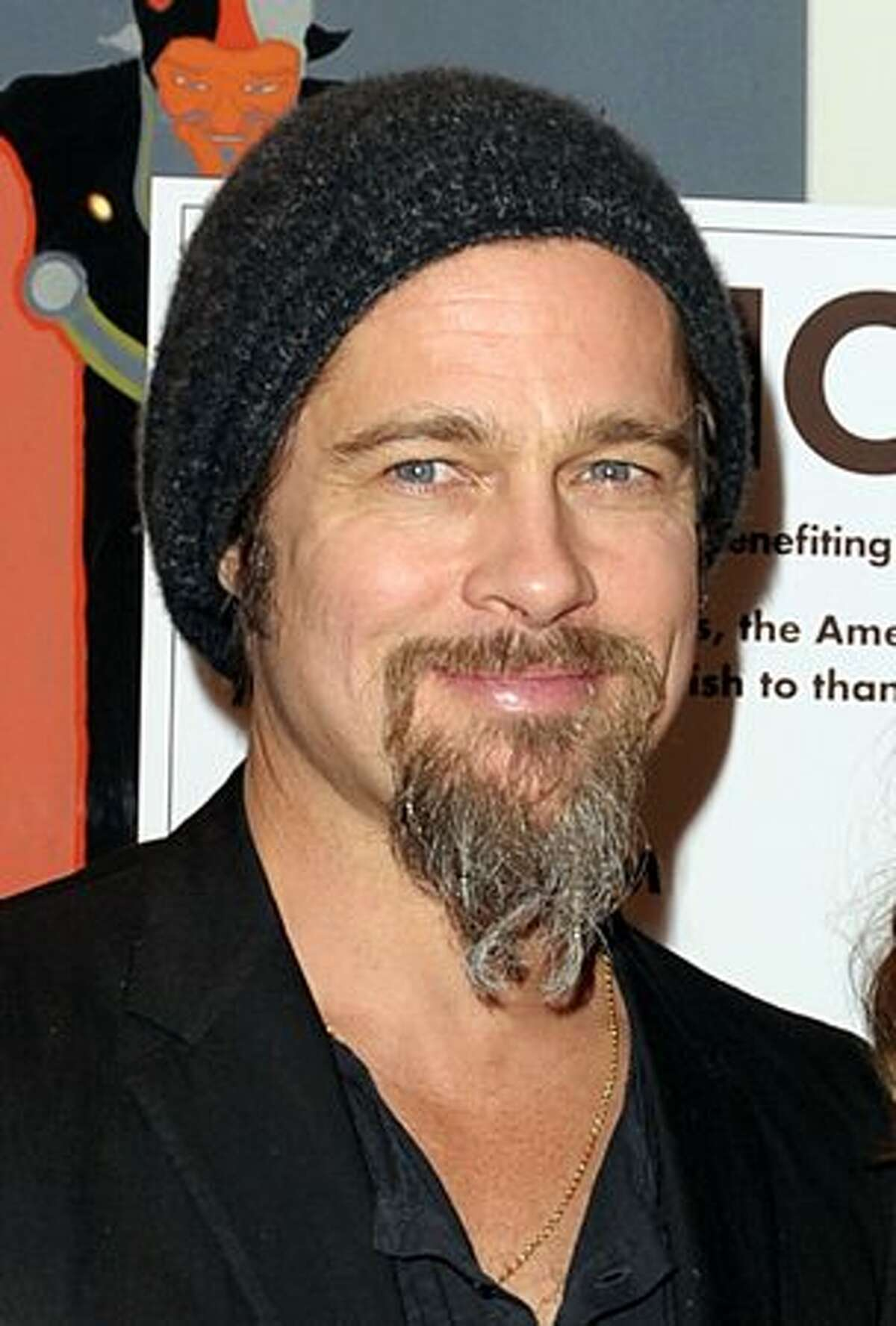 Actor Brad Pitt arrives at the premiere of Warner Bros. Pictures' and Spyglass Entertainment's