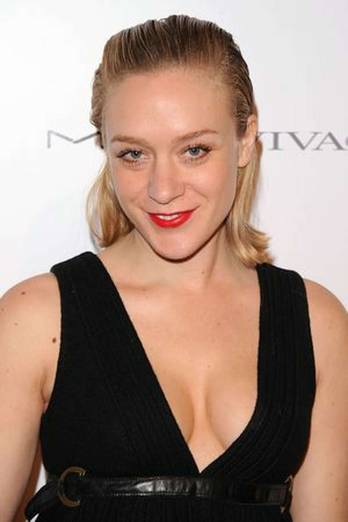 Actress Chloe Sevigny attends the amfAR New York Gala co-sponsored by M.A.C. Cosmetics to Kick Off Fall 2010 Fashion Week at Cipriani 42nd Street in New York, New York.