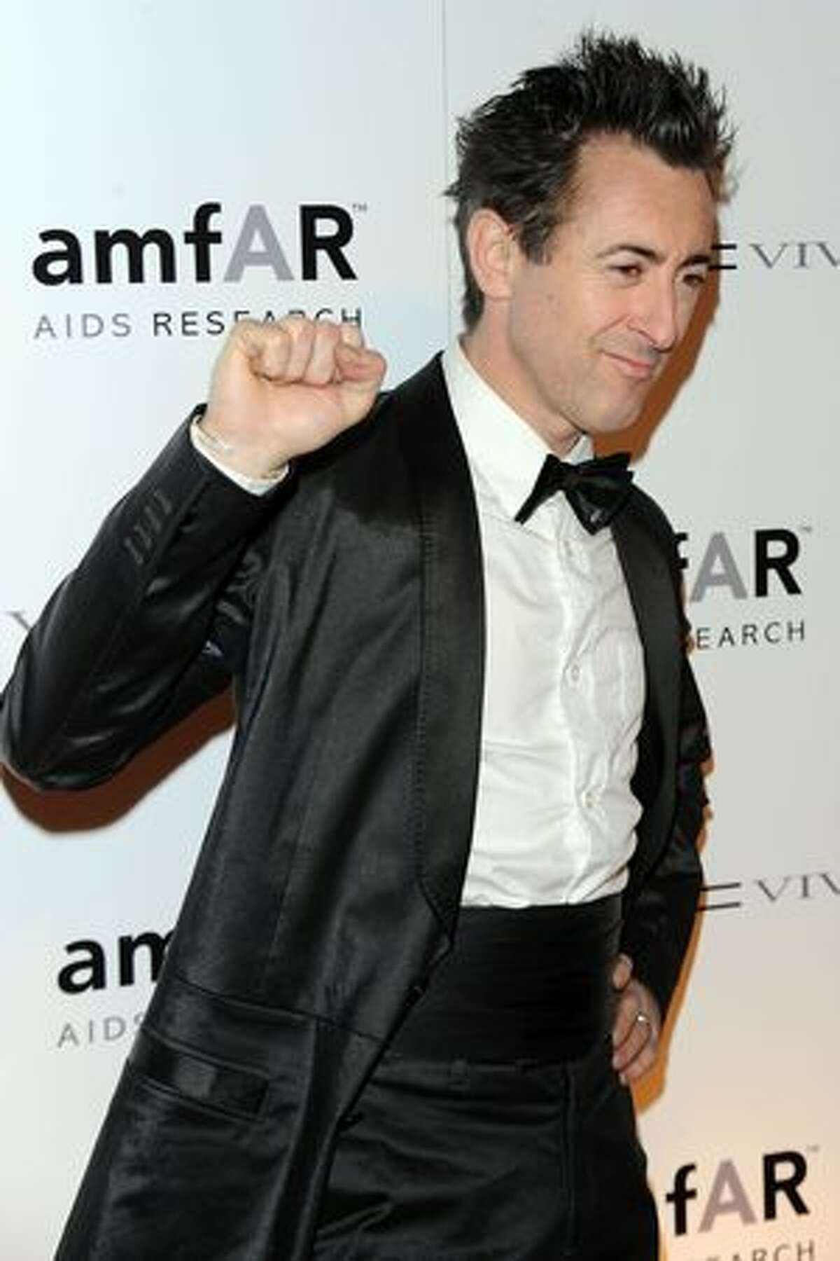 Actor Alan Cumming attends the amfAR New York Gala co-sponsored by M.A.C. Cosmetics to Kick Off Fall 2010 Fashion Week at Cipriani 42nd Street in New York, New York.