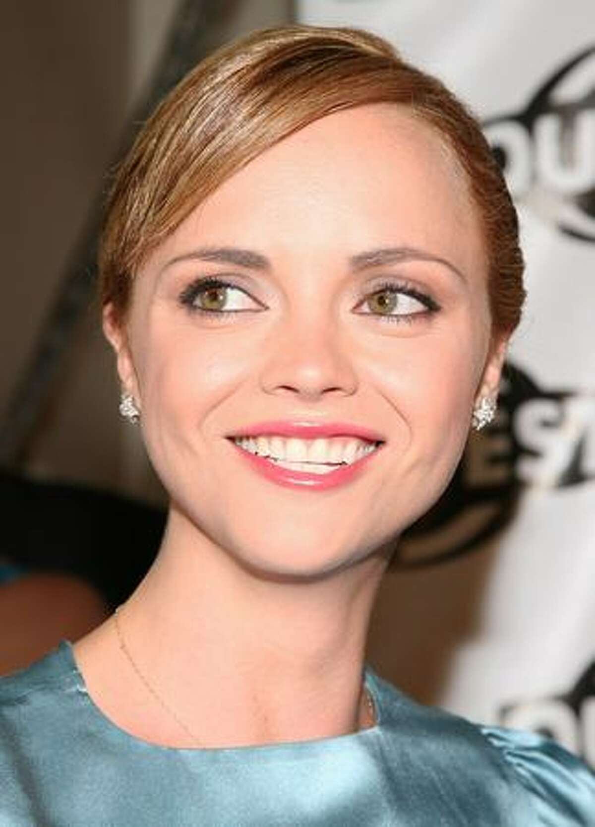 Actress Christina Ricci arrives to the 2009 Outfest opening night gala of 'La Mission' held at The Orpheum Theatre in Los Angeles, California.