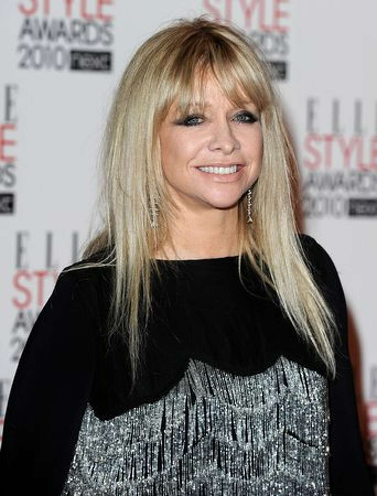 Former model Jo Wood arrives at the Elle Style Awards 2010 at the Grand Connaught Rooms in London on Monday, Feb. 22, 2010.
