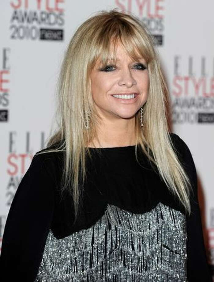 Former model Jo Wood arrives at the Elle Style Awards 2010 at the Grand Connaught Rooms in London on Monday, Feb. 22, 2010. Photo: Getty Images