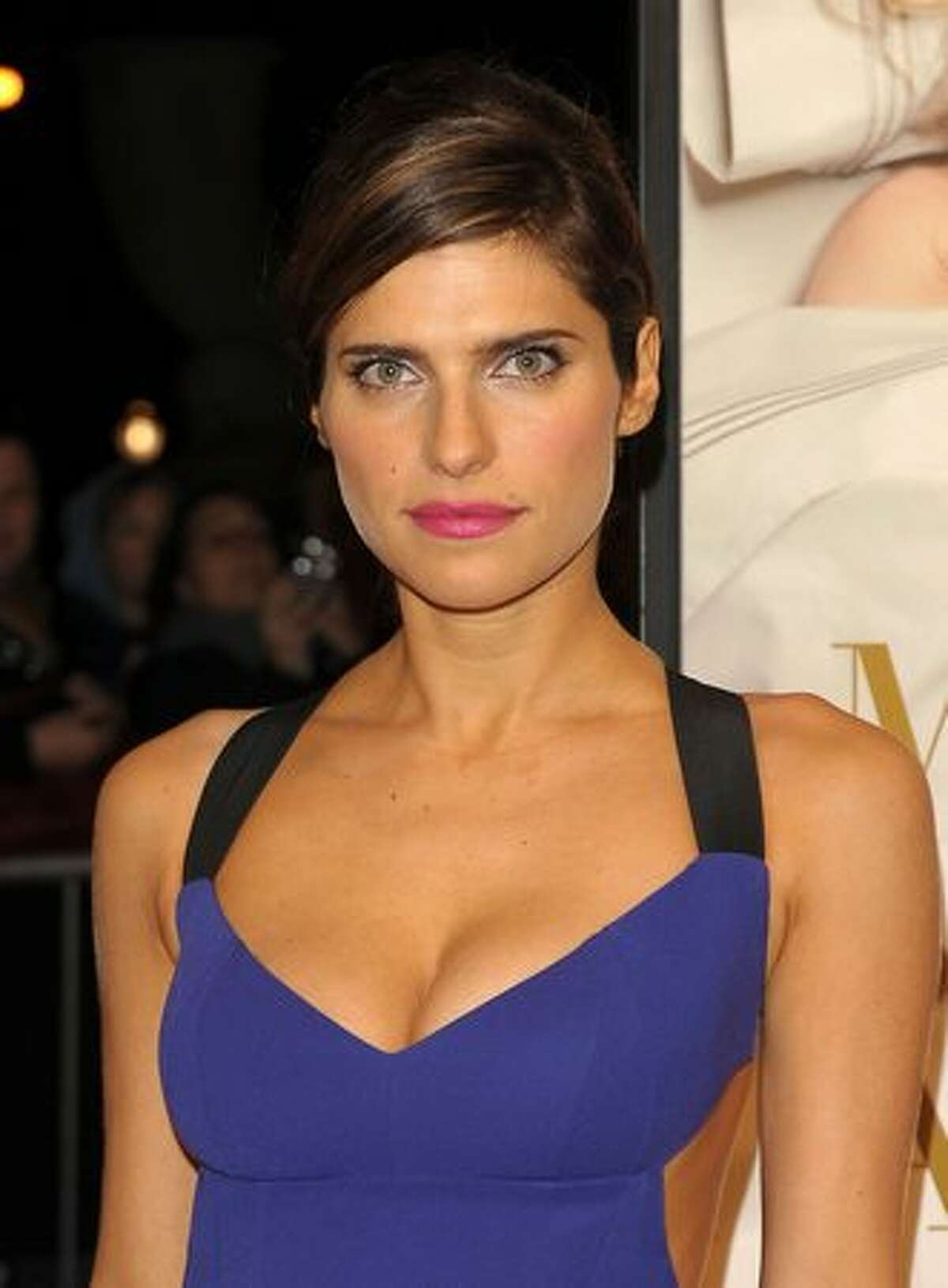 Actress Lake Bell attends.