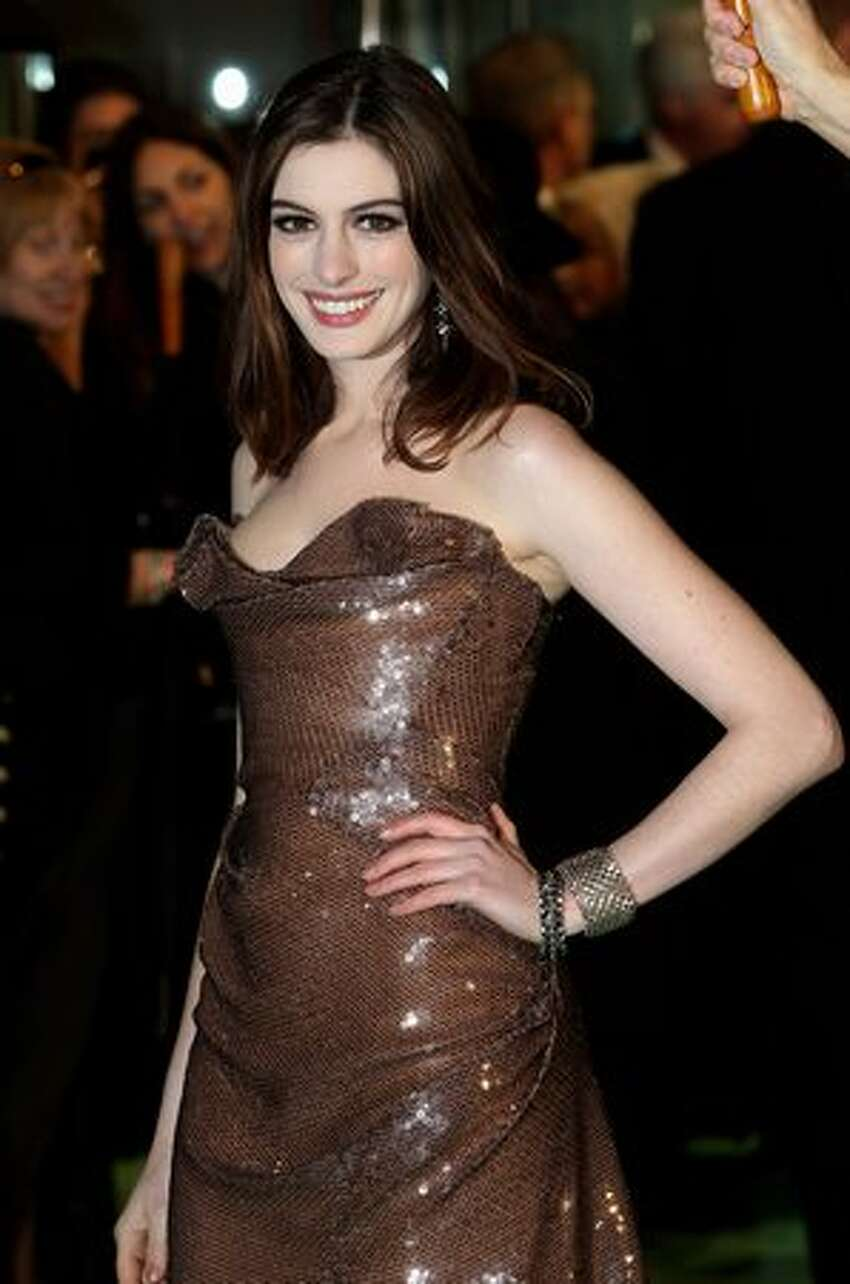 Actress Anna Hathaway attends the Royal World Premiere of