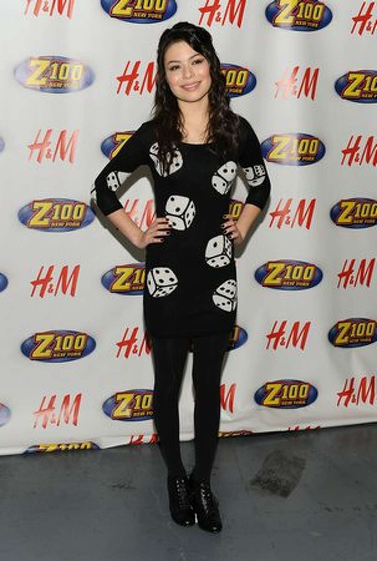 Actress Miranda Cosgrove attends Z100's Jingle Ball 2009 at Madison Square Garden on December 11, 2009 in New York City.