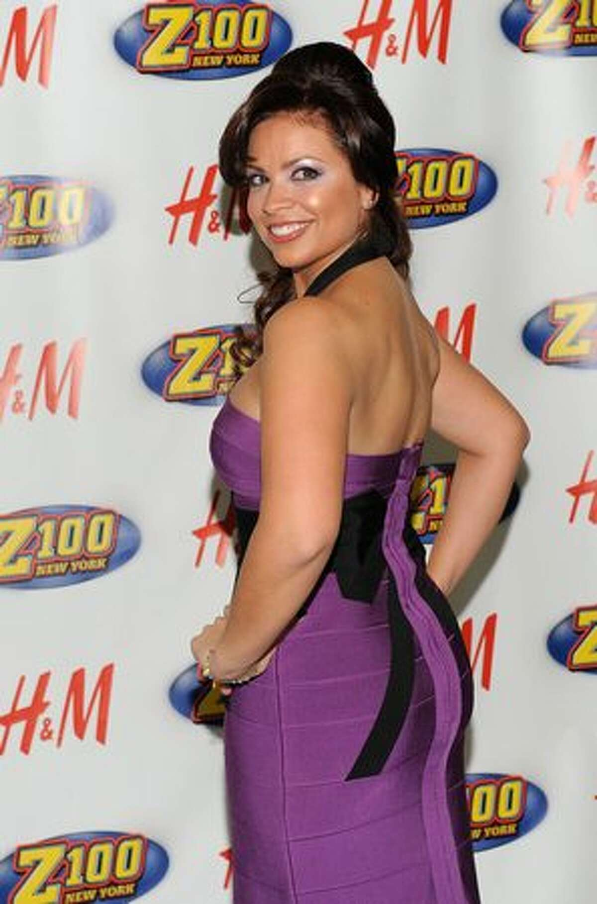 Radio personality Carolina Bermudez attends Z100's Jingle Ball 2009 at Madison Square Garden on December 11, 2009 in New York City.