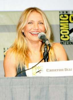 "SAN DIEGO - JULY 24: Actress Cameron Diaz speaks during a panel discussion for ""The Box"" at Comic-Con 2009 held at San Diego Convention Center on July 24, 2009 in San Diego, California. Photo: Getty Images"