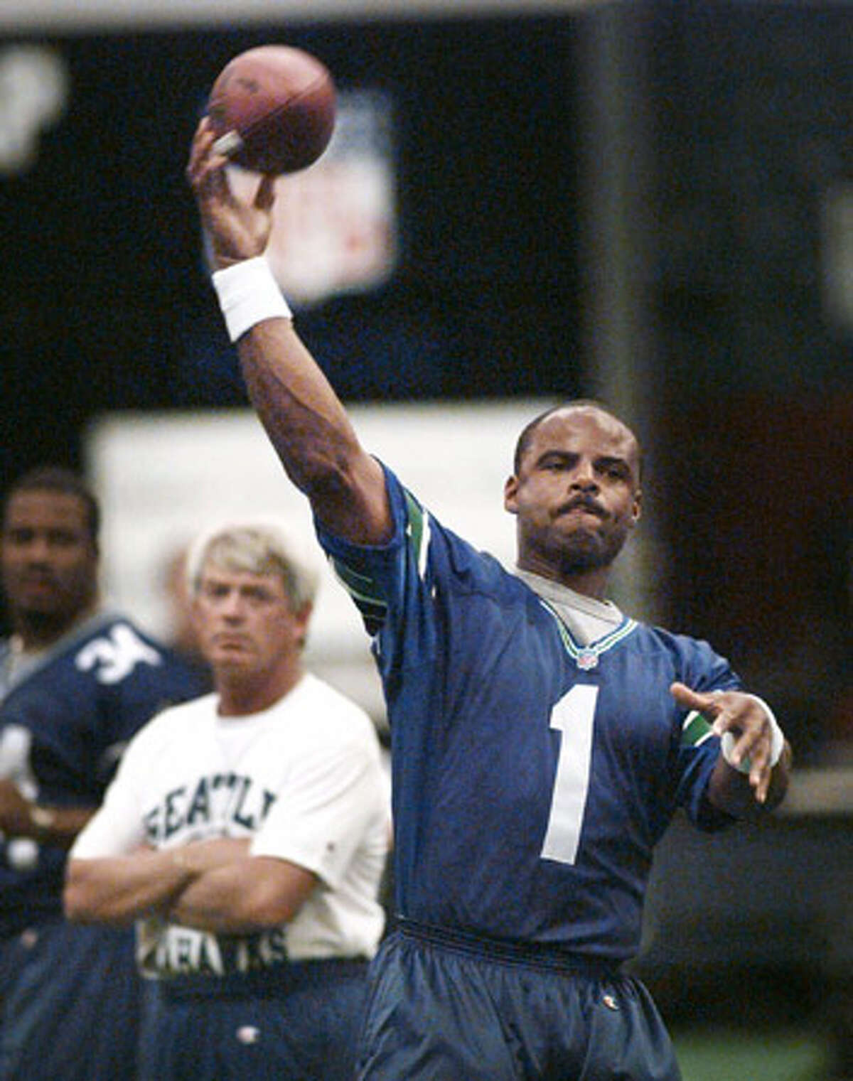 No. 1: Warren Moon, former UW and Seahawks quarterback (AP photo)