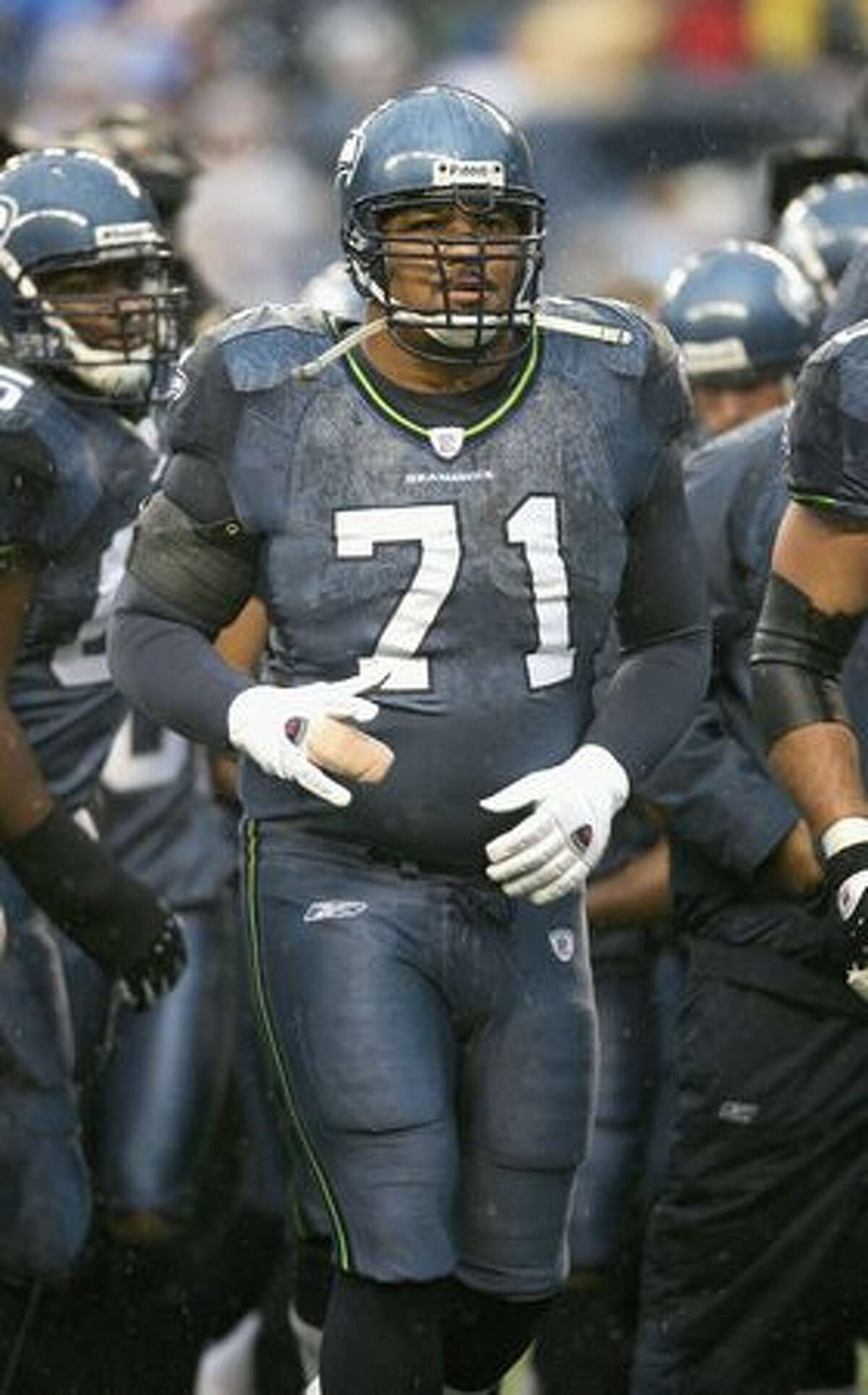 No. 71: Walter Jones, Seahawks offensive lineman (Getty Images)