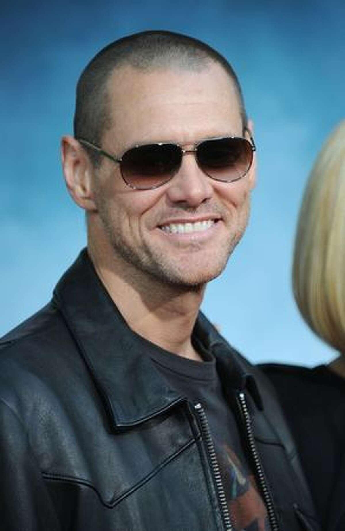 Actor Jim Carrey.